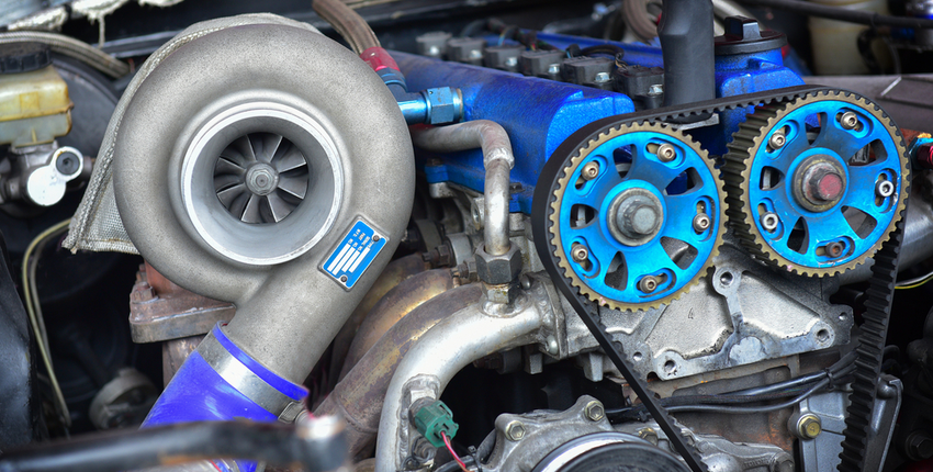 Turbochargers use carbon graphite